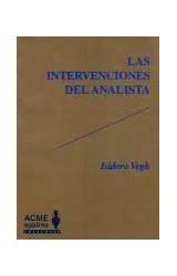 Papel LAS INTERVENCIONES DEL ANALISTA