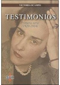 Papel Testimonios. Primera Serie (1920-1934)