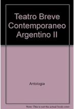 Papel TEATRO BREVE CONTEMPORANEO ARGENTINO II