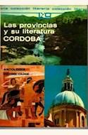 Papel PROVINCIAS Y SU LITERATURA, LAS (CORDOBA)
