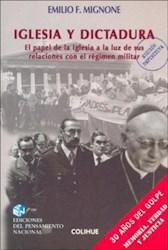Libro Iglesia Y Dictadura