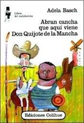 Papel Abran Cancha Que Aqui Viene Don Quijote De L