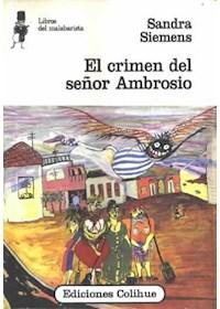 Papel El Crimen Del Señor Ambrosio