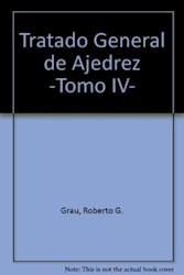 Papel Tratado General De Ajedrez T Iv