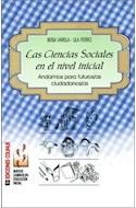 Papel CIENCIAS SOCIALES EN EL NIVEL INICIAL ANDAMIOS PARA FUTUROS/AS CIUDADANOS/AS (NUEVOS CAMINOS)