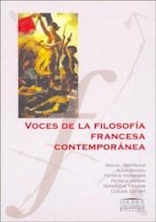 Libro Voces De La Filosofia Francesa Contemporanea