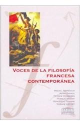 Papel VOCES DE LA FILOSOFIA FRANCESA CONTEMPORANEA
