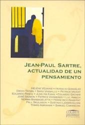 Libro Jean-Paul Sartre  Actualidad De Un Pensamiento