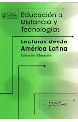 Papel EDUCACION A DISTANCIA Y TECNOLOGIAS (LECTURAS DESDE AMERICA