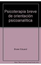 Papel PSICOTERAPIA BREVE DE ORIENTACION PSICOANALITICA