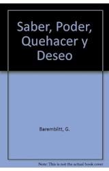 Papel SABER, PODER, QUEHACER Y DESEO