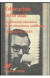 Papel EDUCACION INFORMAL-POTENCIAL EDUCATIVO DE SITUACIONES COTIDI
