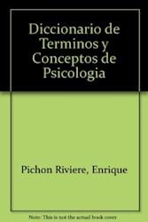 Papel Diccionario De Terminos Y Conceptos Psicolog