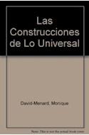 Papel CONSTRUCCIONES DE LO UNIVERSAL PSICOANALISIS Y FILOSOFI