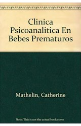 Papel CLINICA PSICOANALITICA CON BEBES PREMATUROS