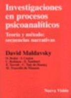 Papel Investigaciones En Procesos Psicoanaliticos