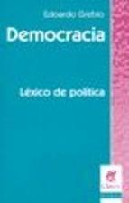Papel Democracia Lexico De Politica