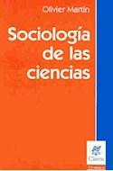 Papel SOCIOLOGIA DE LAS CIENCIAS