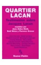 Papel QUARTIER LACAN (TESTIMONIOS SOBRE JACQUES LACAN)