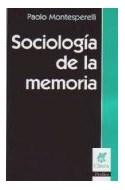 Papel SOCIOLOGIA DE LA MEMORIA (COLECCION CLAVES PERFILES) (RUSTICA)