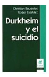 Papel DURKHEIM Y EL SUICIDIO