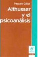 Papel ALTHUSSER Y EL PSICOANALISIS