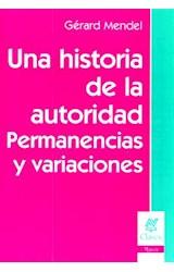 Papel UNA HISTORIA DE LA AUTORIDAD.