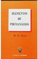 Papel ELEMENTOS DE PSICOANALISIS (BOLSILLO)