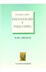 Papel ESTUDIOS SOBRE PSICOANALISIS Y PSIQUIATRIA