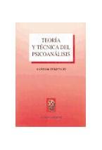 Papel TEORIA Y TECNICA DEL PSICOANALISIS