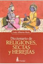 Papel DICCIONARIO DE RELIGIONES, SECTAS Y HEREJIAS