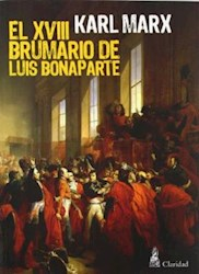 Libro El Xviii Brumario De Luis Bonaparte