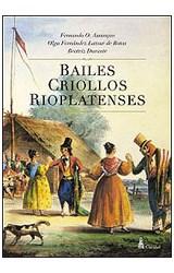 Papel BAILES CRIOLLOS RIOPLATENSES
