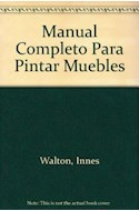 Papel MANUAL COMPLETO PARA PINTAR MUEBLES (CARTONE)