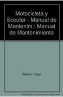 Papel MOTOCICLETA Y SCOOTER MANUAL DE MANTENIMIENTO