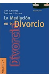 Papel LA MEDIACION EN EL DIVORCIO