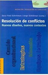Papel RESOLUCION DE CONFLICTOS (NUEVOS DISEÑOS, NUEVOS CONTEXTOS)