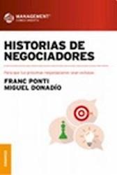 Libro Historias De Negociadores