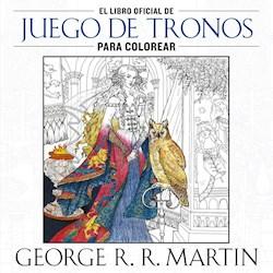 Papel Libro Oficial De Juego De Tronos Para Colorear, El