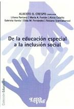Papel DE LA EDUCACION ESPECIAL A LA INCLUSION SOCIAL