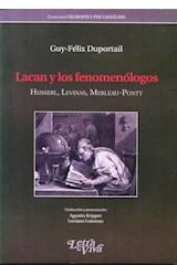 Papel LACAN Y LOS FENOMENOLOGOS (HUSSERL,LEVINAS,MERLEAU-PONTY)