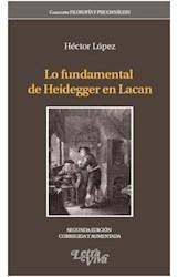 Papel FUNDAMENTAL DE HEIDEGGER EN LACAN, LO