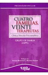 Papel CUATRO FAMILIAS, VEINTE TERAPEUTAS