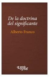Papel DE LA DOCTRINA DEL SIGNIFICANTE