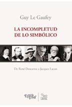 Papel LA INCOMPLETUD DE LO SIMBOLICO