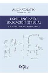 Papel EXPERIENCIAS EN EDUCACION ESPECIAL