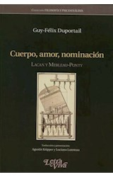 Papel CUERPO, AMOR, NOMINACION
