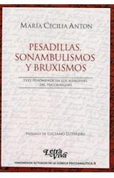 Papel PESADILLAS, SONAMBULISMOS Y BRUXISMOS