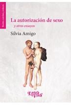 Papel LA AUTORIZACION DE SEXO Y OTROS ENSAYOS