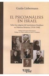 Papel EL PSICOANALISIS EN ISRAEL